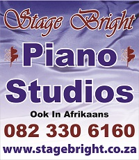 Stage Bright Piano Studios: 082 330 6160 - www.stagebright.co.za